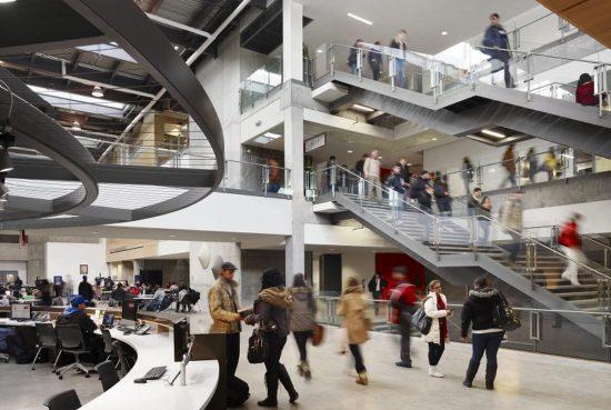 Seneca-Newnham campus inside