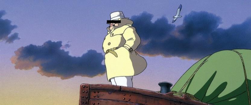 アニメで学ぶ今日の英語: 飛ばねぇ豚はただの豚だ。