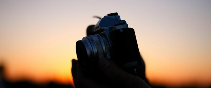 今日の英語: 写真撮ってくれませんか?