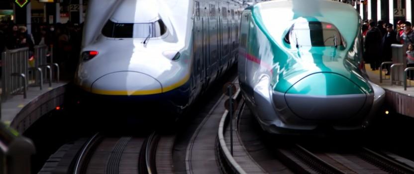今日の英語: 新幹線