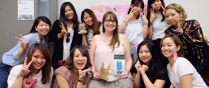 体験者の声: Etsukoさん「自信をもって日本に帰れます!」