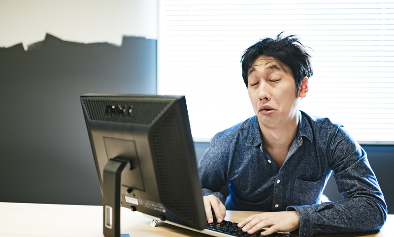 今日の英語:寝不足