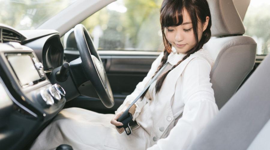 今日の英語:シートベルトを締める