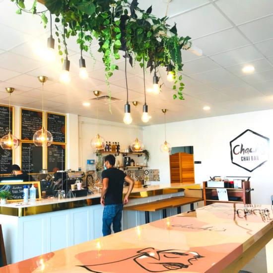 chachi's chai bar カフェ店内